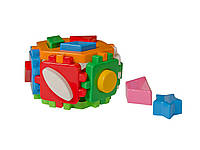 Развивающий куб Умный малыш Гексагон 2 ТехноК, обучающие игры для детей