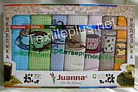 Полотенца вафельные кухоные - Juanna - Неделька - 7 шт. - 50*70 - 100% хлопок - Турция - (kod 1332), фото 1