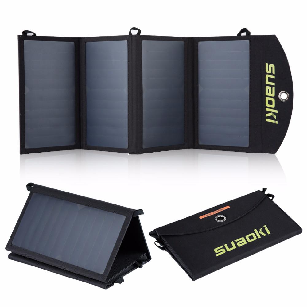 Складная портативная солнечная батарея 25 Вт