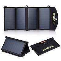 Складная портативная солнечная батарея 25 Вт, фото 1