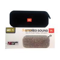 Портативная колонка мини-динамик переносной Bluetooth JBL MD6 MUSIC ROLL