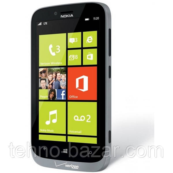 Смартфон Nokia Lumia  822 Gray 1/16gb 1800 мАч Qualcomm MSM8960 Snapdragon