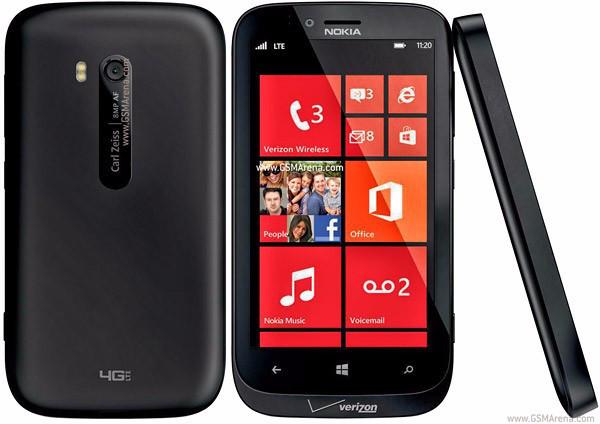 Смартфон Nokia Lumia  822 Black 1/16gb 1800 мАч Qualcomm MSM8960 Snapdragon