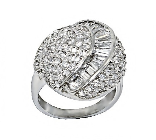 Кольцо фирмы Neoglory. Камни: белый  циркон. Цвет: серебро. Есть: 17р. 18 р. 19р.