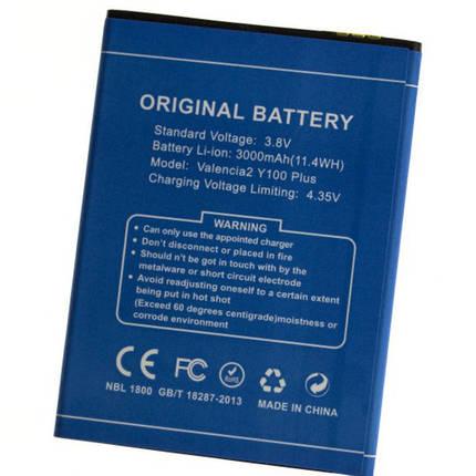 Аккумуляторная батарея doogee Y100 plus, фото 2