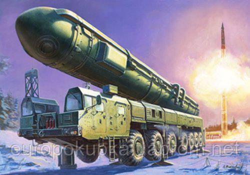 Купить Сборная модель ZVEZDA Российский ракетный комплекс Тополь (5003)