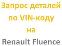 Запчасти Renault Fluence 2009, 2010, 2011, 2012, 2013, 2014 - оригинал Renault