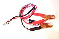 Кабель провод для для преобразователя от аккумулятора с крокодилами 0,5 м. 450/750V JB8734.2-1998