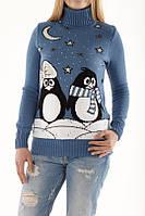 Свитер зимний Пингвины