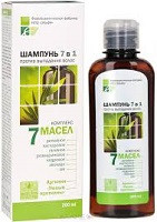 Шампунь «7 масел» (Эльфа ) - для ослабленных волоса, склонных к выпадению