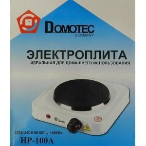 Электроплита однокомфорная дисковая Domotec HP-100A