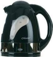 Электрический чайник черный