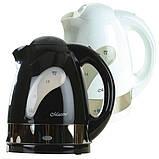 Электрический чайник черный, фото 2