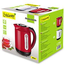 Электрический чайник красный