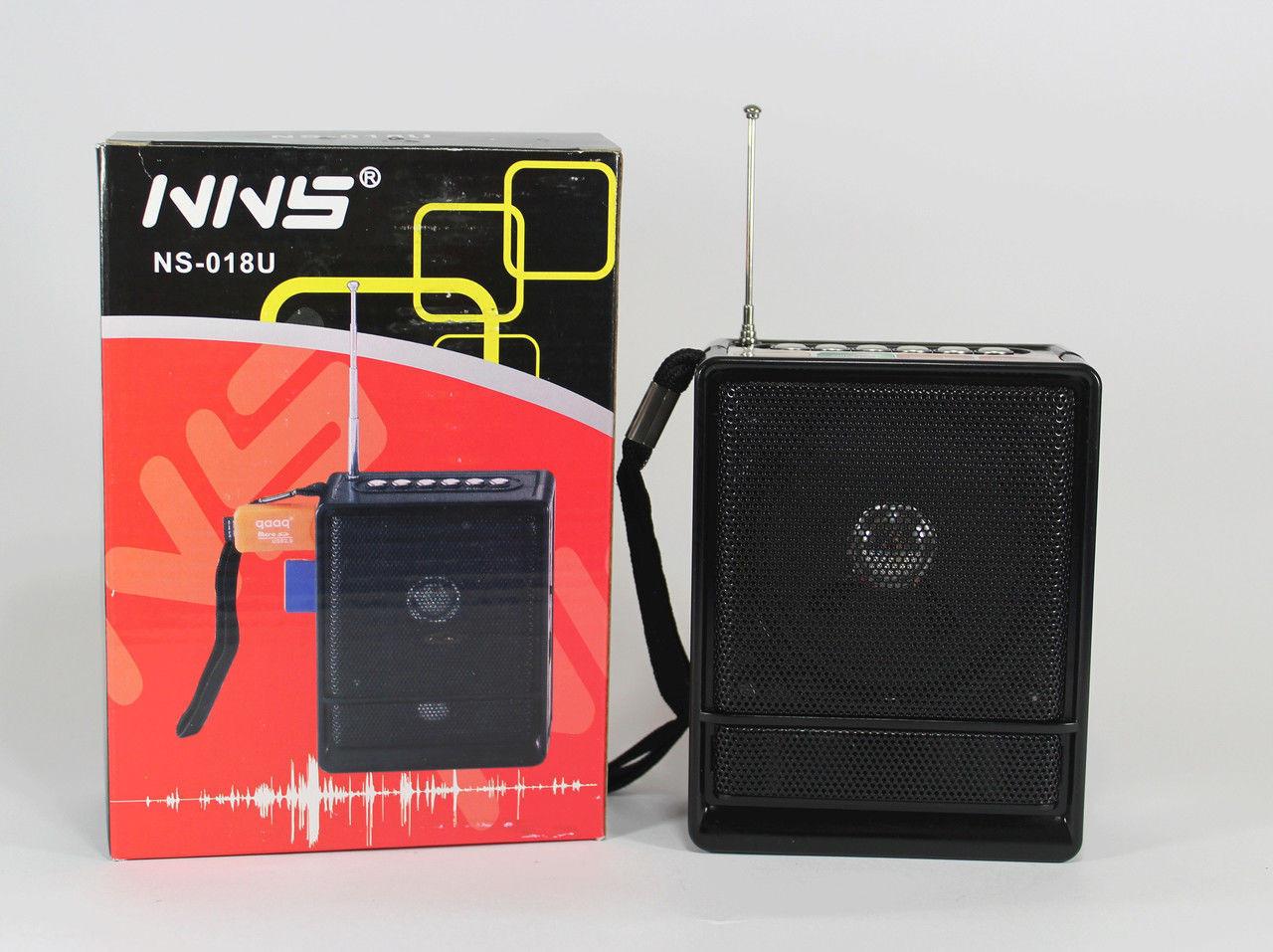 """Радиоприемник колонка """"NNS"""" NS-018U"""