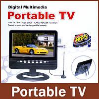 """Портативный автомобильный телевизор 9"""" TV NS-901"""