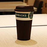 Термостакан керамический, чашка Starbucks Еco Life, фото 3