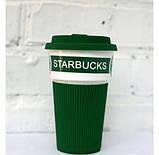Термостакан керамический, чашка Starbucks Еco Life, фото 4