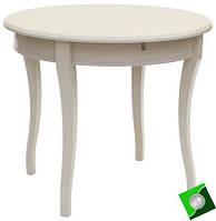 Круглый кухонный стол из дерева Катрин, массив бука, фото 1
