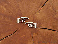 Чипборд Набор Стрелка рука
