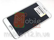 Модуль для Meizu M3 note L681H   Дисплей + тачскрин с передней панелью белый оригинал PRC