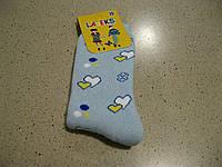 Махровые детские носочки для девочки, сердечки,   5 -7. Турция , фото 1