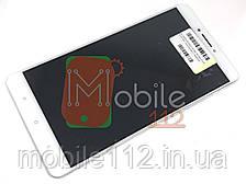 Модуль для Xiaomi Mi Max | Дисплей + тачскрин с передней панелью белый оригинал PRC