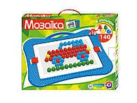 Детская игра мозайка для малюків 6 пластмасса Технок