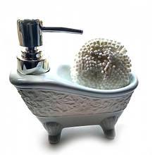 Диспенсер Ванна для мыла с мочалкой