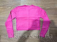 Укороченный свитер для девочек оптом, Nice Wear, 4-12 лет, арт. GF848, фото 5