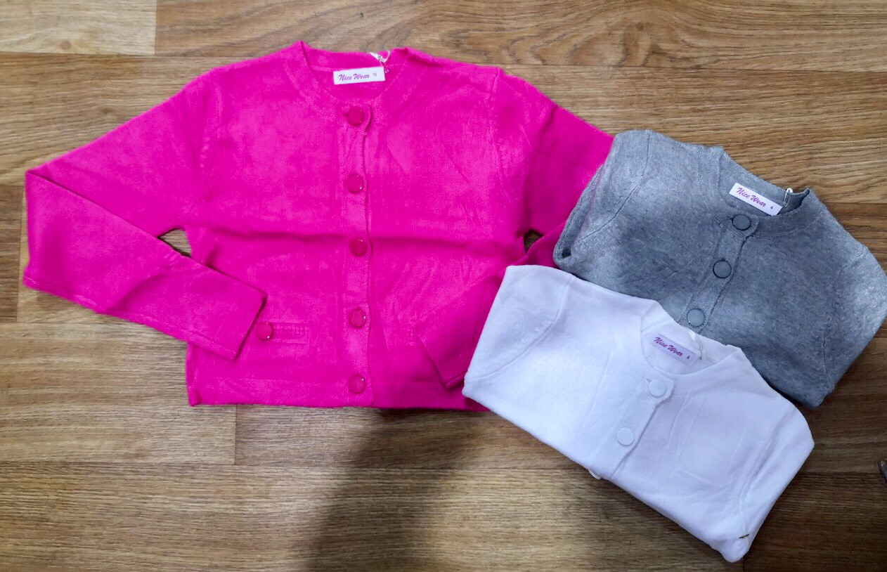 Укороченный свитер для девочек оптом, Nice Wear, 4-12 лет, арт. GF848