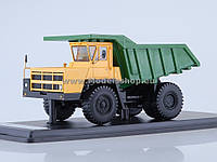 Автомодель SSM БЕЛАЗ-7522 Самосвал (SSML019) Зелено-желтый