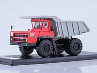 Автомодель SSM БЕЛАЗ-7522 Самосвал Серо-красный (SSML020)