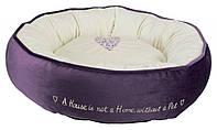 Trixie TX-37488 лежак  Pet's Home Bed для кошек и собак   ø 50