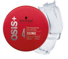 Акция !!! Крем-воск для волос ультрасильной фиксации Schwarzkopf Professional Osis+ FlexWax85 мл