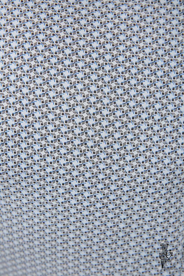 Фото-1 Женской приталенной блузки Ромбус-6