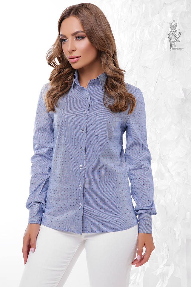 Подобные товары-5 Женской приталенной блузки Ромбус
