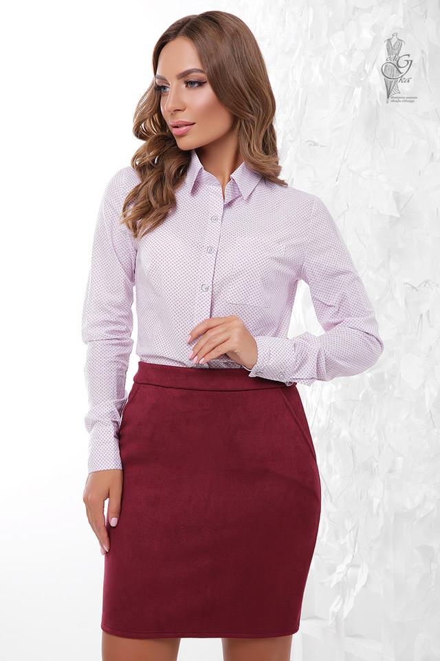 Подобные товары-9 Женской приталенной блузки Ромбус