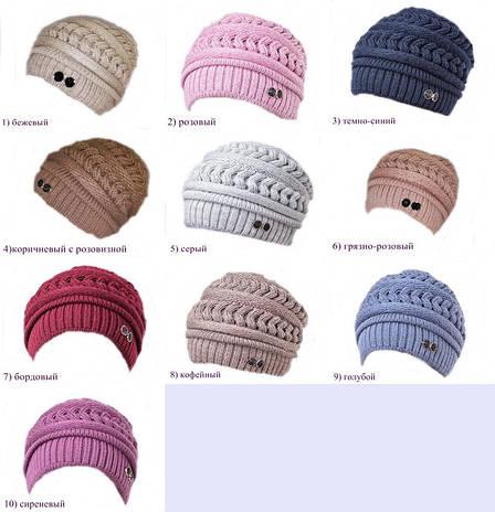 женская вязаная шапка арина продажа цена в одессе шапки от