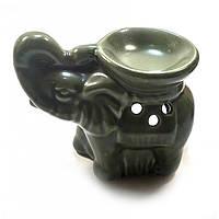"Аромалампа ""Слон"" зеленая 9х11,5х8см  (24552E)"