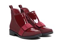 Бордовые польские ботинки VICES р. 30, 32