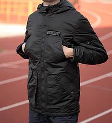 Мужская осенняя куртка Graffts черная топ реплика