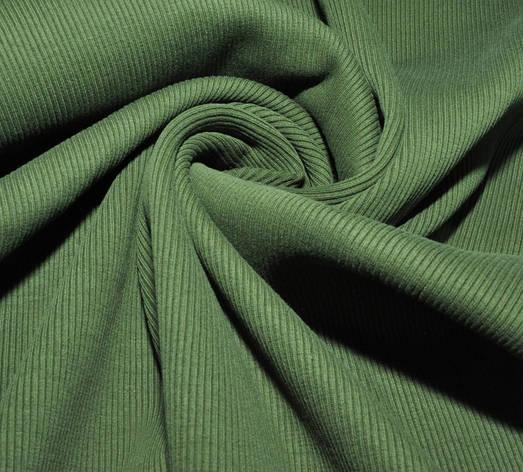 Ткань трикотажная Кашкорсе, рубчик, ластик, резинка, приклад для свитшотов и кофт, регланов, фото 2