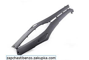 Пластик Honda DIO AF27/28 нижний лыжи черный