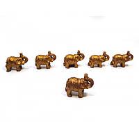 Слоны набор 6 шт 3х2х1,5см  (32080)