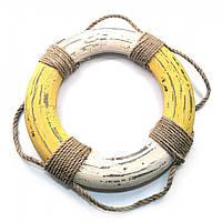 Спасательный круг деревянный d-24,5 см h-2,5см  (32129)