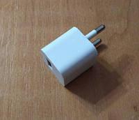 USB зарядка / блок питания 5В/0,2А mini, пит. 220В белый, фото 1