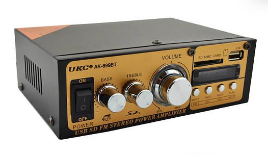 Усилитель звука UKC AK-699BT MP3 FM Bluetooth