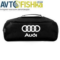 Сумка автомобильная Audi черная мат. (большая), фото 1