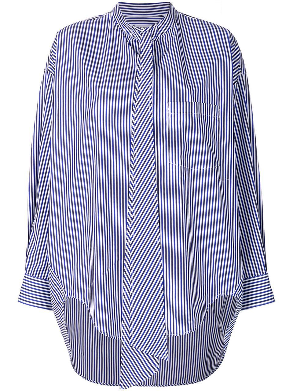 Рубашка Balensiaga туника женская РАЗМЕР+